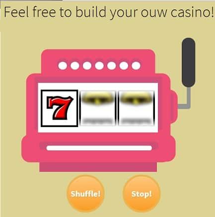 Slot Machine Effect Jquery