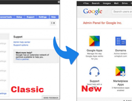 Google apps classic Admin console will change on 3 February 2014