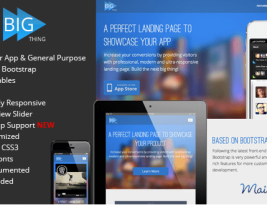 Feed Apps Landing Responsive Html Template