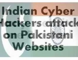 Indian Hackers defaced 100 Pakistani sites in two days