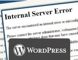 500 Internal Server Error in WordPress ? Read Solutions