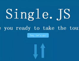 Single js is used to create single page Websites