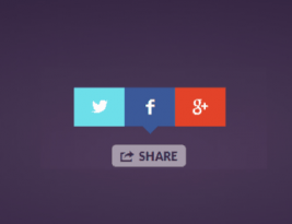 Very good beautiful social share button code