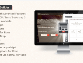 Awesome WordPress Drag and drop page Builder v1.1.1