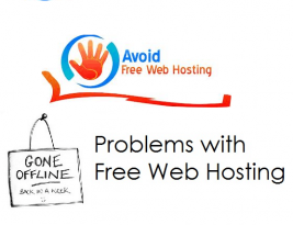 Why you should avoid free web hosting, must read