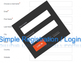 Easy Registration System For WordPress