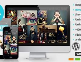 ThemeForest Xiara v1.4 Responsive WordPress One Page Parallax