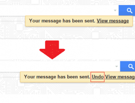 How to undo sent email in gmail if sent by mistake