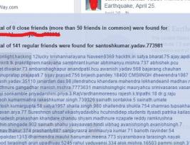 How to find hidden friend list in Facebook