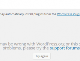 Something may be wrong with WordPress.org or it's sever - Solved