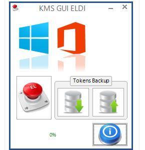KMS GUI ELDI Windows 8 and Office 2013 activator