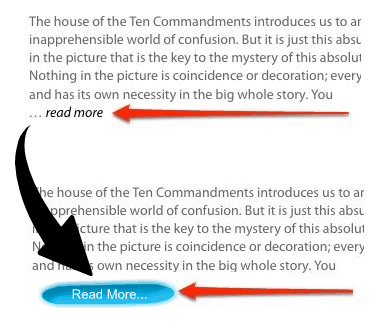 replace read more with image in wordpress
