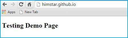 Hosting html webpages on GitHub Pages free