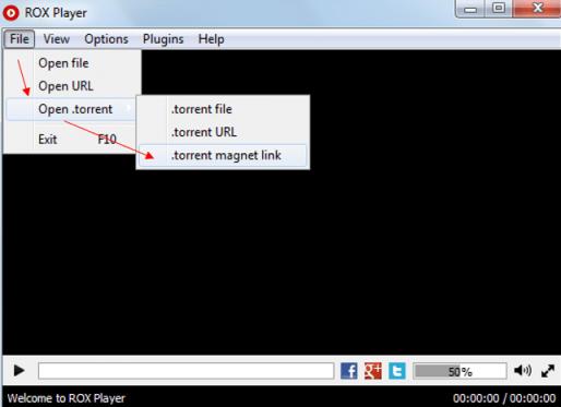 Stream Torrent Media files