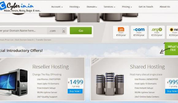 Cheapest domain name and web hosting provider in Delhi