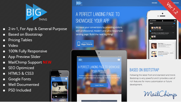 Apps Landing Html Template