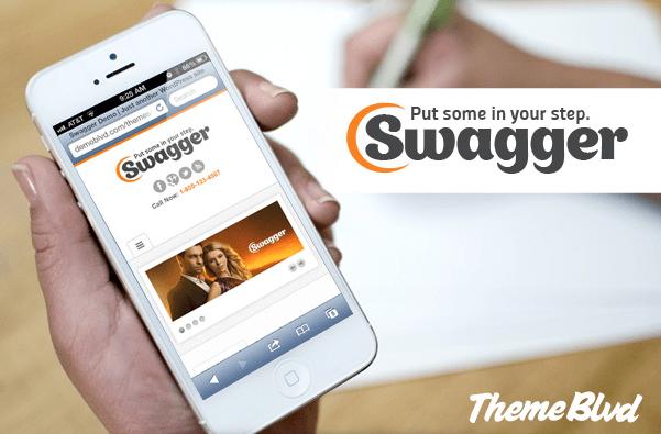 Swagger Responsive WordPress Theme Free