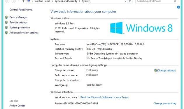 how to change office 2013 product key in windows 8.1
