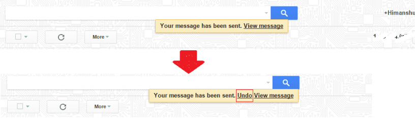 sent email undo or revert in gmail