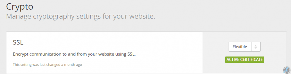 free SSL for website
