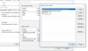 add environment variable for angular cli